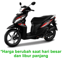 sewa motor spacy di jogja
